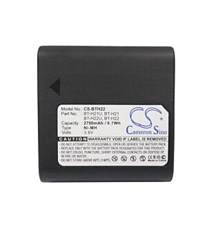 VINTRONS NI-MH BATTERY Pack Fits Sharp BT-H21, BT-H22, BT-H22U, BT-H21U, VL-AD260U, VL-H770S, VL-E680, VL-AH30U