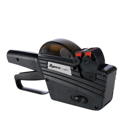 LYNX 2616 IL0CW17 Two-Line Price Gun with 10+7 Numeric Bands (Bold Bottom Line)