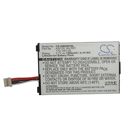 Battery for Amazon Kindle 1, Kindle d00111, cs-abd001sl, First Generation