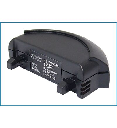 Battery for Bose QuietComfort 3 QC3 HeadPhones 40228 40229 NTA2358 CS-BQC3SL