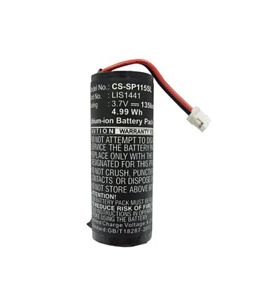 Battery for Sony 4-195-094-02, LIS1441, 4-168-108-01, Motion Controller