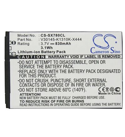 High Quality Battery Cell Fit RoHS Siemens Gigaset SL78H 830 mAh 3.7-Volts