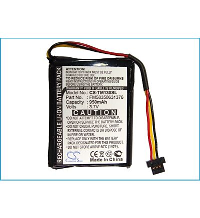 Premium Battery for TomTom One 130S, One 125, One 130, FM58350631376, VF2 NEW