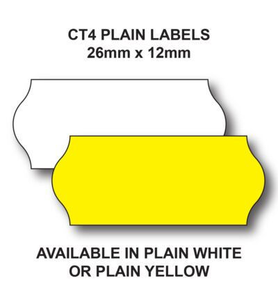 Genuine Avery Dennison Pricing Gun Labels -Yellow or White-Removable Adhesive